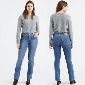 NWT Levi's 315 Shaping Boot Cut Jeans